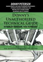 Donny's Tech Guide to Harley-Davidson IRONHEAD SPORTSTER 1957-1985~ 1056 pgs~NEW