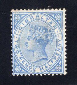 1886-87 Gibraltar. SC#NL. SG#11w. Mint, Lightly Hinged, FVF.