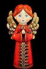 Vintage Christmas Praying Angel Girl / Boy Chalkware Made in Japan 1960-70's