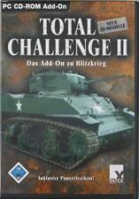 Total Challenge II 2 Add-On für Blitzkrieg PC von Intex Erweiterung Missionen