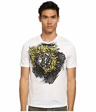 Versace Collection Baroque Men's White T-Shirt