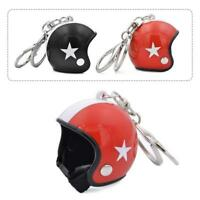 Motorcycle Bicycle Helmet Key Chain Ring Keychain Keyring Key Fob GiftS w/
