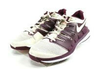 Nike Air Zoom Vapor $110 Women's Tennis Shoes Size 8.5 Beige Purple