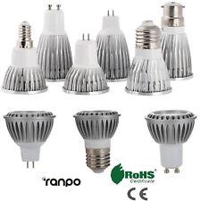 LED Spotlight 6W 9W 12W 15W GU10 MR16 E27 E14 COB Light Lamp High Power Bright