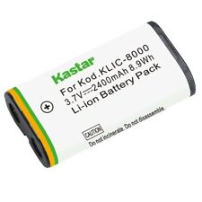 Kastar KLIC-8000 Battery for Kodak Z1012 IS, Z1015 IS, Z1085 IS, Z1485 IS