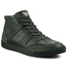 ARMANI JEANS Z6531 Green Sneakers uomo