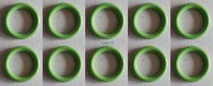 O-Ringe 17.04 x 3.53 mm Set (10 Stk) HNBR Gummi, für KFZ-Klimaanlagen R12 & R134