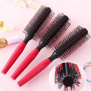 New Women Round Hair Care Brush Hairbrush Salon Styling Dressing Curling F0X5