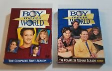 Boy Meets World Seasons 1 And 2 DVDs