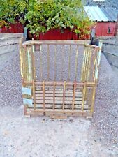 METAL STORAGE CAGE // STEEL STACKING CAGE // 25 AVAILABLE // INDUSTRIAL CAGE