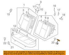 Chevrolet GM OEM 07-11 Aveo Rear Seat-Pin 96473399