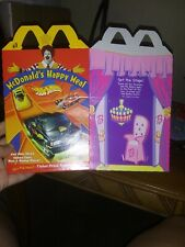 2001 Hot Wheels and Barbie box. Lot of 9