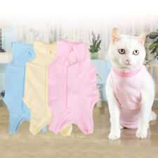 Pet Cat Recovery Weaning Suit Anti-mite Elastic Vest Wound Protection Clothes Su