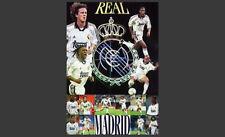 Real Madrid 2000 Vintage Original POSTER - Anelka, Carlos, Karembeu, McManaman++