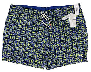 Men's TOMMY BAHAMA Blue Marlin Ocean Swimsuit Swim Trunks 3XL 3X 3XB NWT NEW