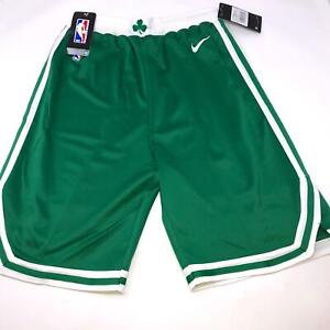 Nike Boston Celtics Green Icon Swingman Shorts Youth Size 8 Small