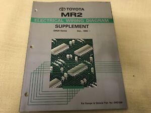 TOYOTA MR2  Electrical Wiring Diagramm Supplement SW20 Series Oct.1990 EWD106F