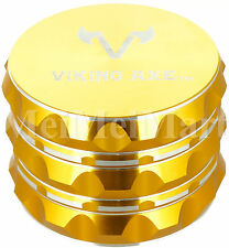 """2.375"""" VIKING AXE Gold 4 Piece Grinder Gift Box GV004 -Holiday Limited"""