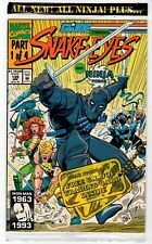 Marvel G.I. JOE #135 Snake Eyes And Ninja Force - NM 1993 Vintage Comic