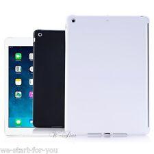 ★Neu iPad Air Schutz Hülle+Folie Smart back Cover Case Tasche Hartschal Weiß★