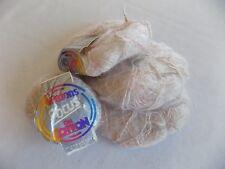 Lot of 4 25 g Ball Patons Focus on Cotton Color 2095 Cotton Mohair Acrylic Nylon