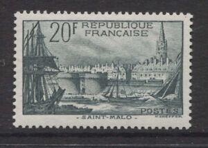 FRANCE - 1938 ST. MALO 20f GREEN MINT SG.601 (REF.E15)