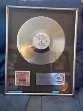 "L.T.D. RIAA PLATINUM ALBUM SALES AWARD FOR ""TOGETHERNESS"" 1978 HOLDING ON, JAM"