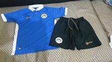 Wigan Athletic Kit De Fútbol Camiseta + Pantalones Cortos Tamaño MB/sb Color Azul