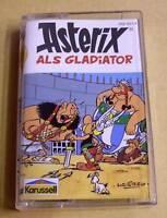 Asterix Hörspielkassette MC Asterix als Gladiator - von Karussell
