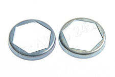 Genuine BMW Output Drive Shaft Flange Nut Securing Plates 2 Pcs 1966-
