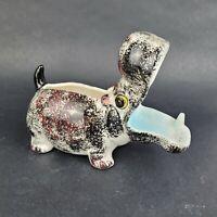 Hippopotamus Hippo Dresser Caddy Valet Ceramic Planter Vintage 1950's Japan