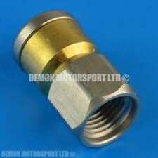 More details for high pressure spinning drain cleaner nozzle jet (1/4 bsp) waste sewer pipe