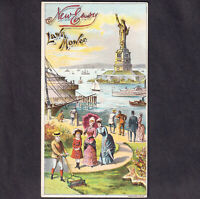 Statue Of Liberty New Easy Lawn Mower Patriotic NYC  Harbor Victorian Trade Card