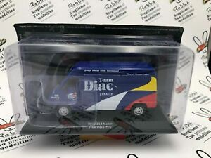 """Die Cast """" Renault Master - Team Diac 1997 """" Scale 1/43 Assistant Rally"""