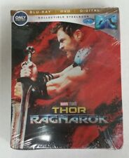 Thor: Ragnarok Blu-Ray DVD Collectible Steelbook NEW