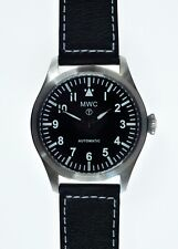 """MWC Classic 24 Jewel Automatic 46mm/1.81"""" Limited Edition Military Pilots Watch"""