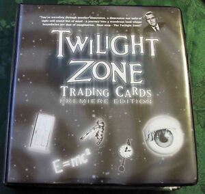 Ultra Master Set 1999 Twilight Zone Premiere Edition-All Autos/ Unpunched Z Card