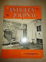 Antiques Journal 1955 Tall Clocks Robert Abels Weapons Expert Diamond Cutting
