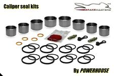 Yamaha FZS1000 Fazer front brake caliper piston seal rebuild kit 2001 2002 2003