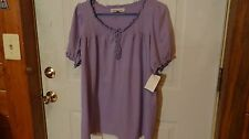 Womens blouse purple size 14 by Roamans
