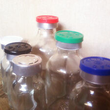 (50) open/no closures 10mL Glass Serum Vials fits 20mm FLIP TOP EZ OFF