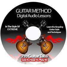 Extreme Guitar Tab Software Lesson CD + FREE BONUSES