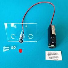 Intermitente LED de alarma de maniquí conmutable único rojo y soporte 10 año Batería FM4 Pecado