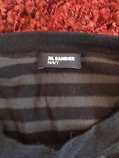Jil Sander Langarm Shirt S Gestreift Pullover leichter