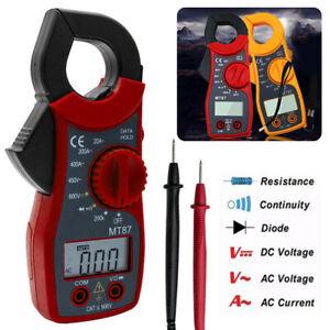 AC/DC Pince ampèremétrique Multimètre Ohmmètre Voltmètre Numérique