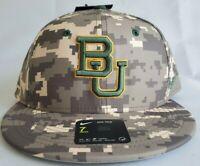 "New Baylor Bears Nike Aerobill  Dri Fit Unisex Camo hat "" BU Sic'Em"" size 7"
