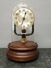 Vintage Brass Bulle Clockette Battery Powered Electromagnetic Mantle Clock