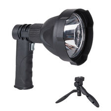 UK LED Handheld Camping Spotlight Rechargeable Torch Hunting Fishing Spot Light