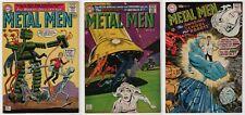 Metal Men #9 FN/VF, #29 & #31 VF 8.0 lot of 3 high grade 1964/1968 Silver Age DC