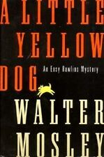 A LITTLE YELLOW DOG Walter Mosley stated 1st Ed 1996 Mystery Hardcover & Jacket